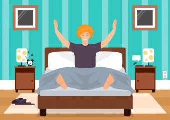 10 простих порад для покращення якості сну і зміцнення імунітету